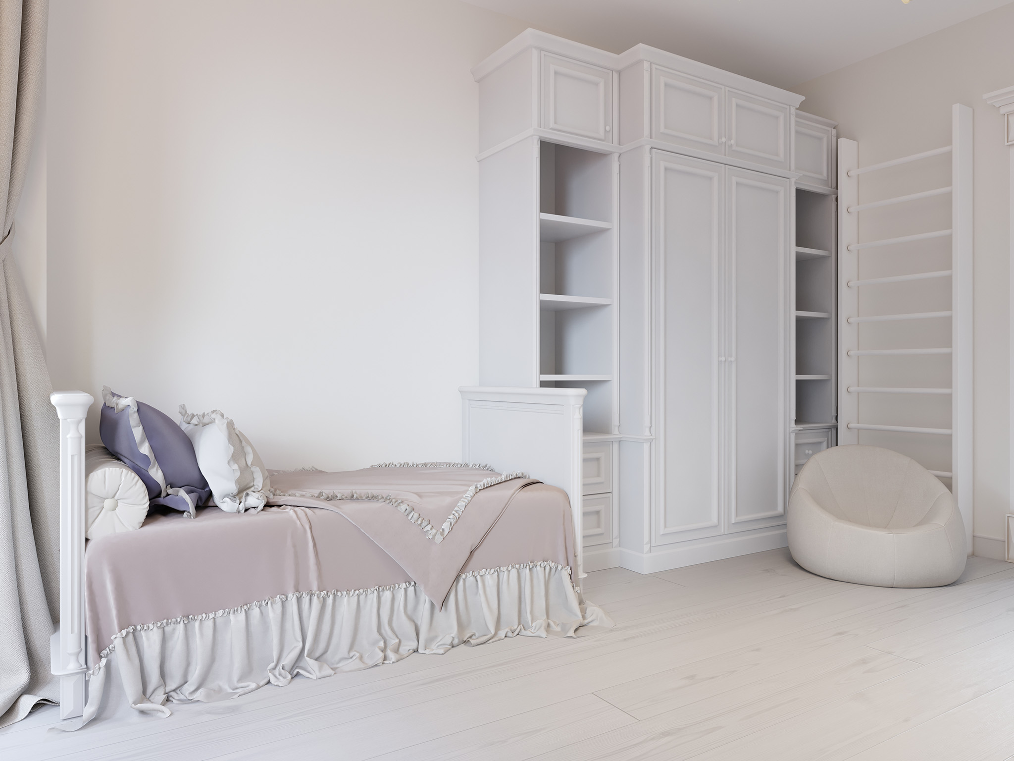 fitted bespoke wardrobes, white wardrobes, wardrobe with drawers