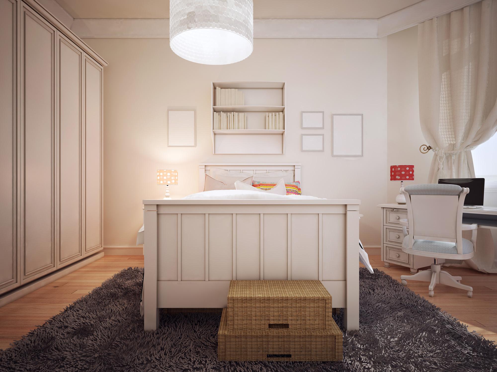 Fitted bedroom furniture, wardrobe set, shaker wardrobe door
