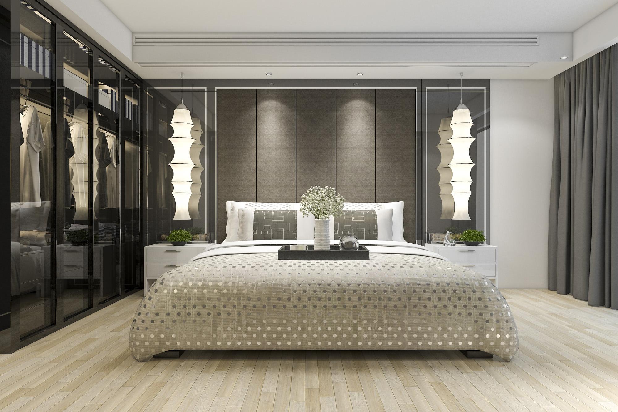 glass wardrobe doors, modern wardrobe, wardrobe design ideas