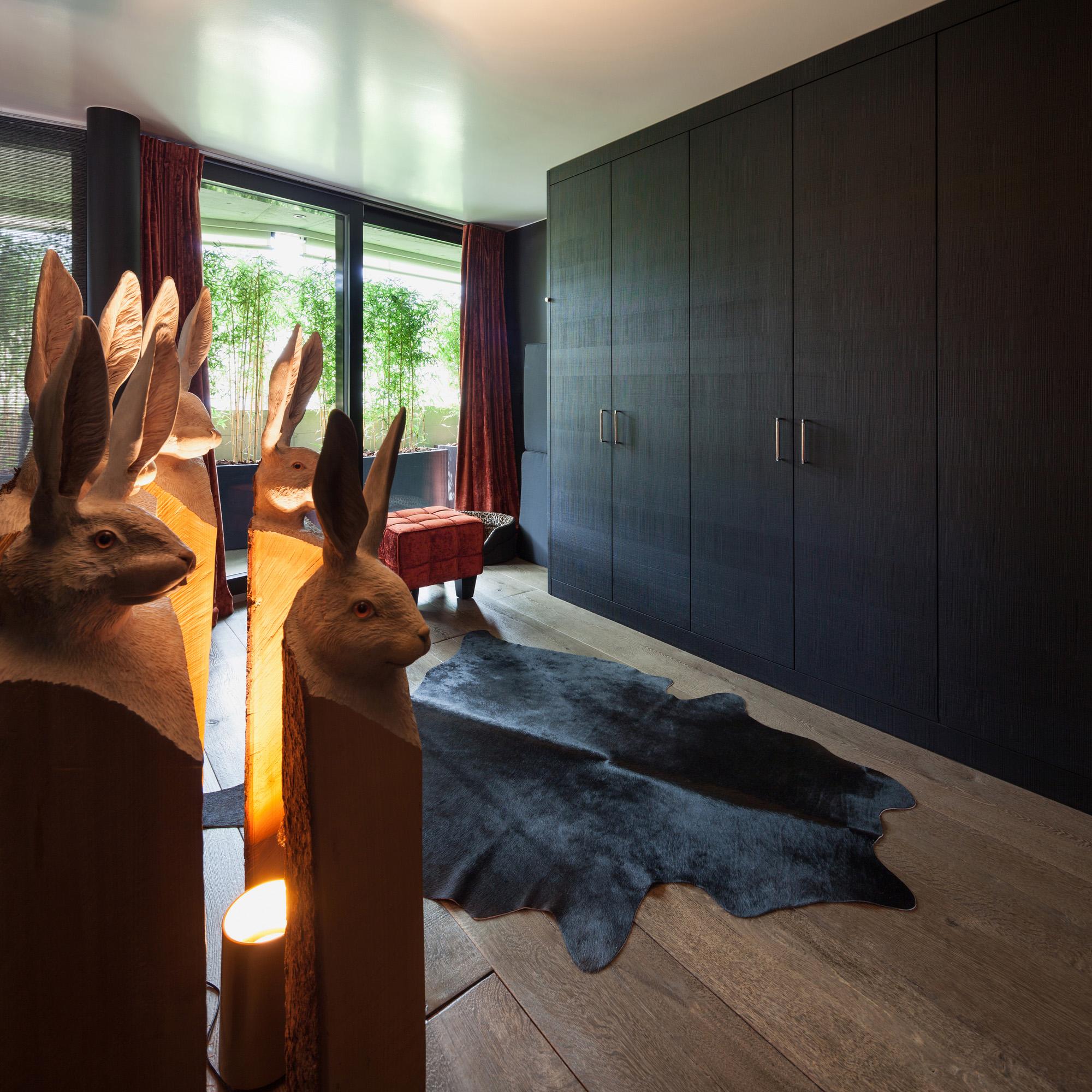 modern bedroom ideas. Grey wardrobe doors, six door wardrobe, bedroom ideas grey