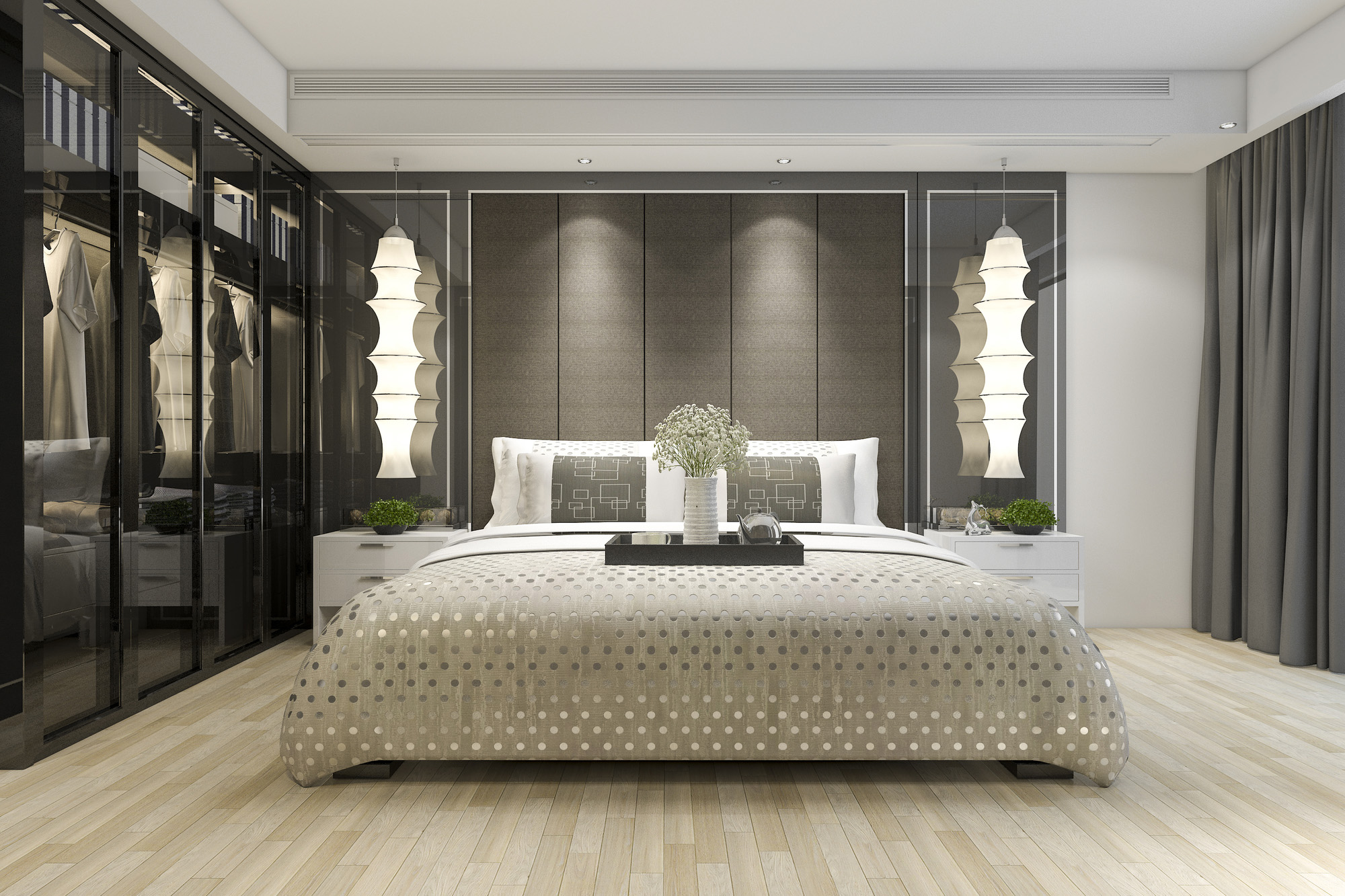 Fitted Wardrobes Ideas | Modern Bedroom Ideas