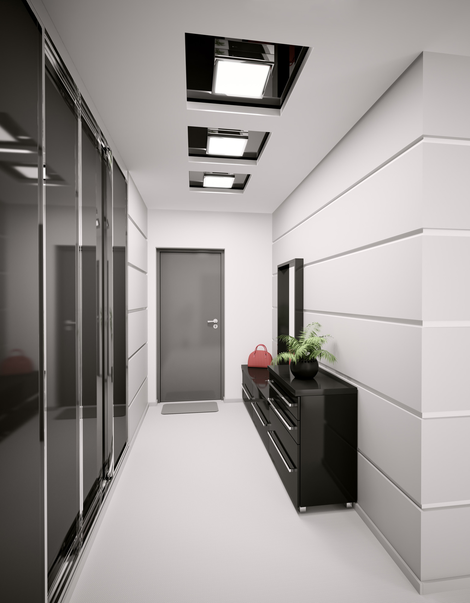 alcove wardrobes, modern bedroom ideas, white wardrobe, shaker wardrobe doors