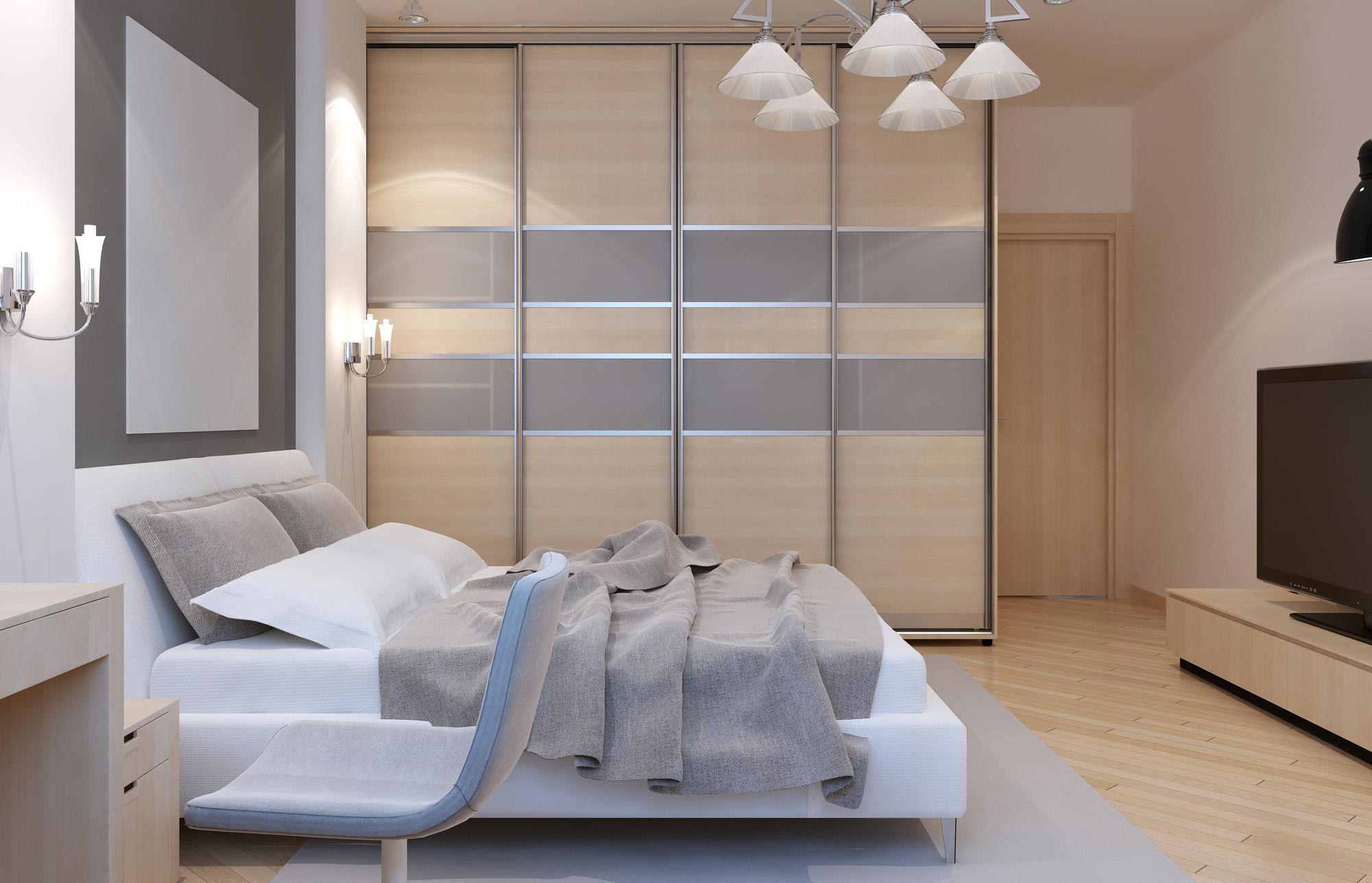 four door wardrobe, grey sliding wardrobe, fitted wardrobes