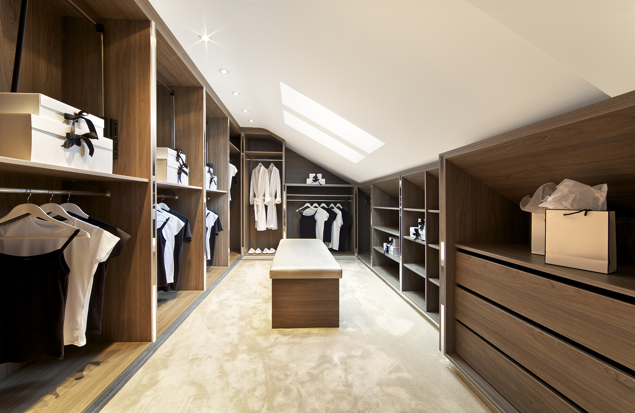 custome wardrobes, walk in wardrobe design, angled wardrobes