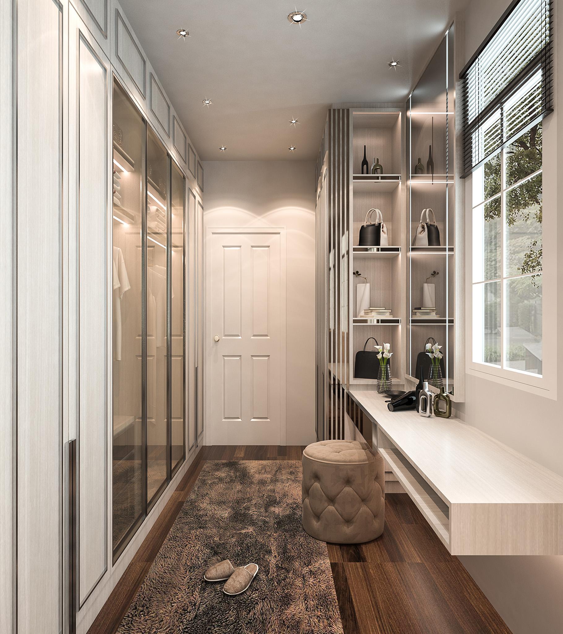 bedroom ideas, designer handbag storage solutions, dressing table ideas