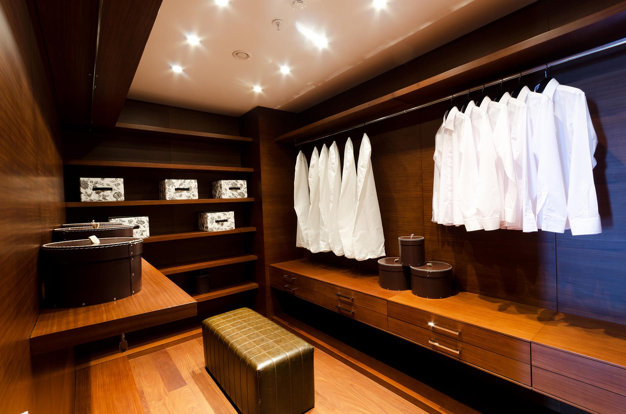 Designer walk in wardrobes, wardrobe storage solutions, wardrobe drawers