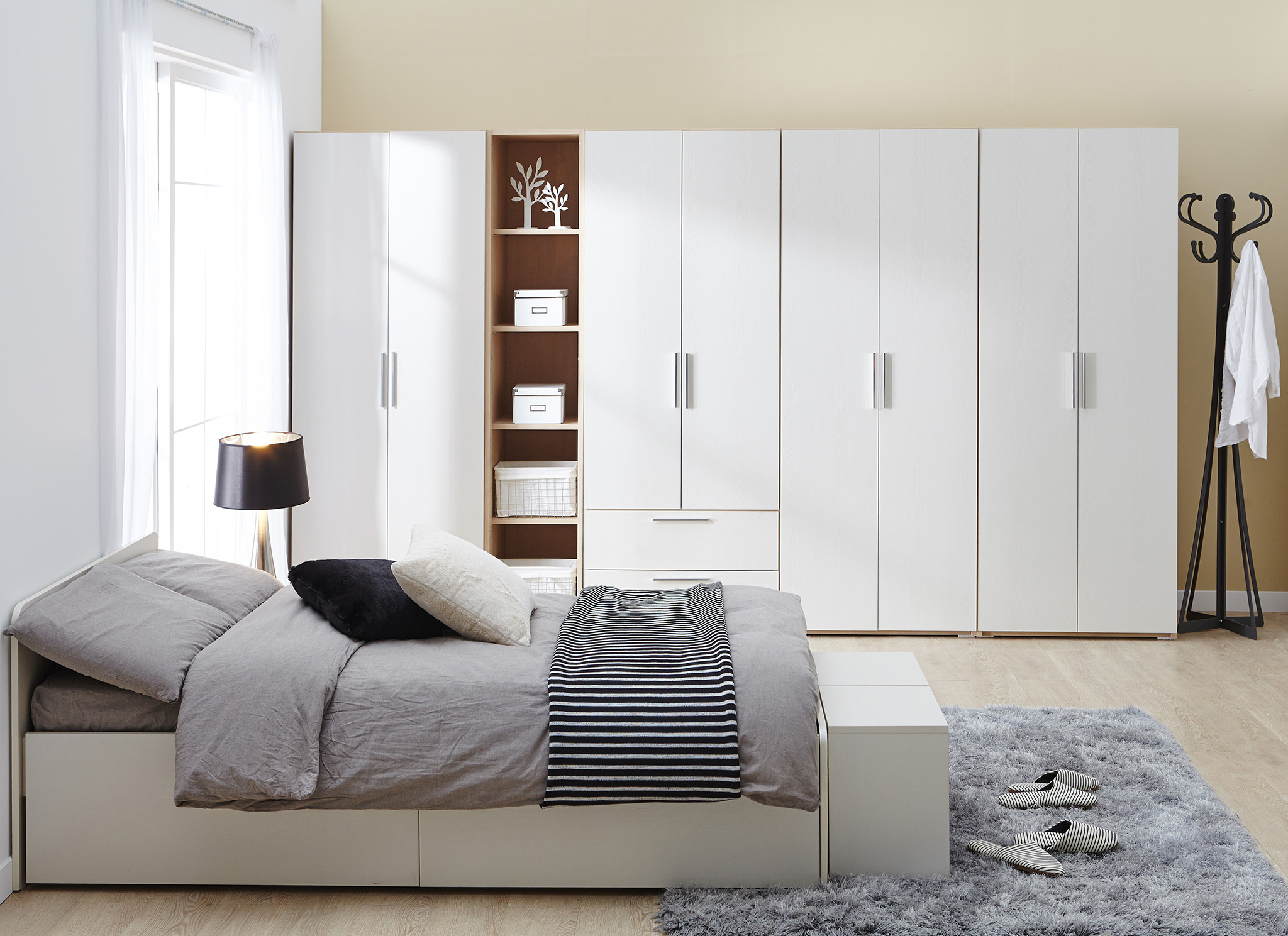 Fitted Wardrobes Ideas - White Wardrobe Design freestanding wardrobes, St Albans
