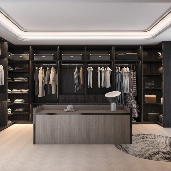 dressing room wow factor, dressing room design, open wardrobe ideas