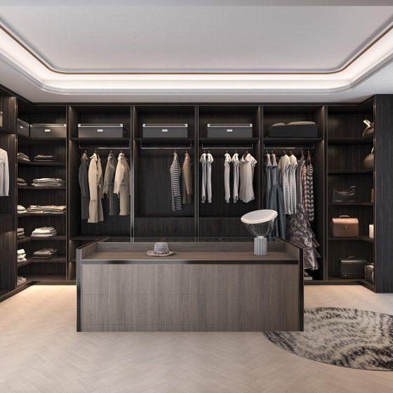 Stunning Luxury Dressing Rooms
