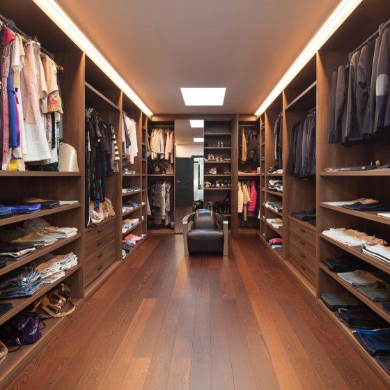 dressing room chair, wardrobe drawers, internal wardrobe storage