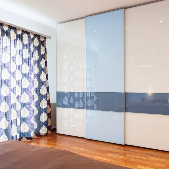 free standing wardrobes, bedroom ideas in blue, sliding wardrobe